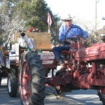Tractor in Carmel Valley