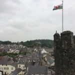Conwy City from Castle