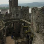 Overview of Conwy Castle