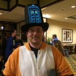 Lighted Hat with the TARDIS