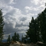 Mt. Pinos and Clouds