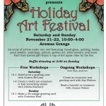 AHA Holiday Art Festival