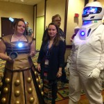 Cosplay: Dalek & Spaceman