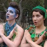 Tiger Lily and Peter Pan from Forest Theatre, Carmel