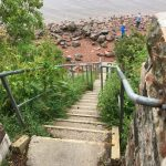 Loch Ness ... and stairs to it