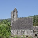 Church and Round Tower at Glendalough