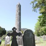 Glendalough Tower and Graveyard