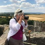 Atop Raglan Castle