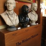 Busts of Burns, Scott & Stevensen