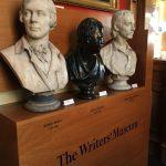 Busts of Burns, Scott & Stevensen