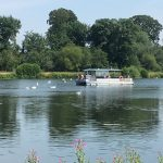 Ferry Boat at Trentham Gardens
