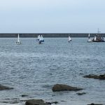 Boats in Holyhead Harbour