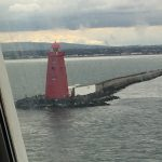 Image of lighthouse at point of Dublin Harbour