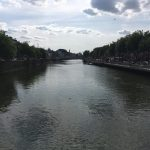 Image of River Liffey from a Bridge