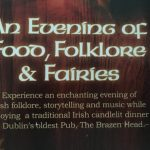 An Evening of Food, Folklore and Faries