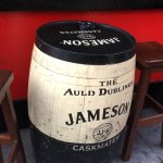 Jameson Whisky Barrel Table in Temple Bar, Dublin