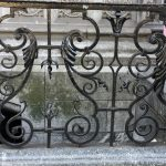 Fancy Wrought Iron Railing