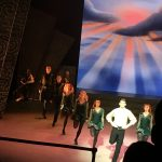 Riverdance dancers at the Gaiety Theatre